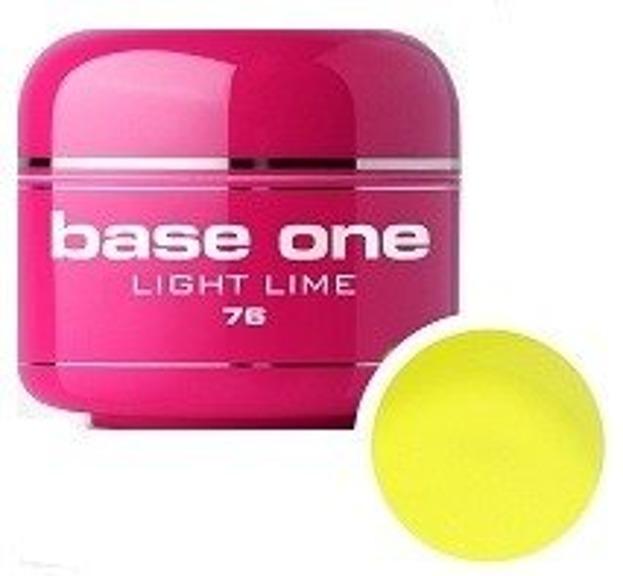 Silcare Base One 76 Light Lime Tree Żel kolorowy 5g
