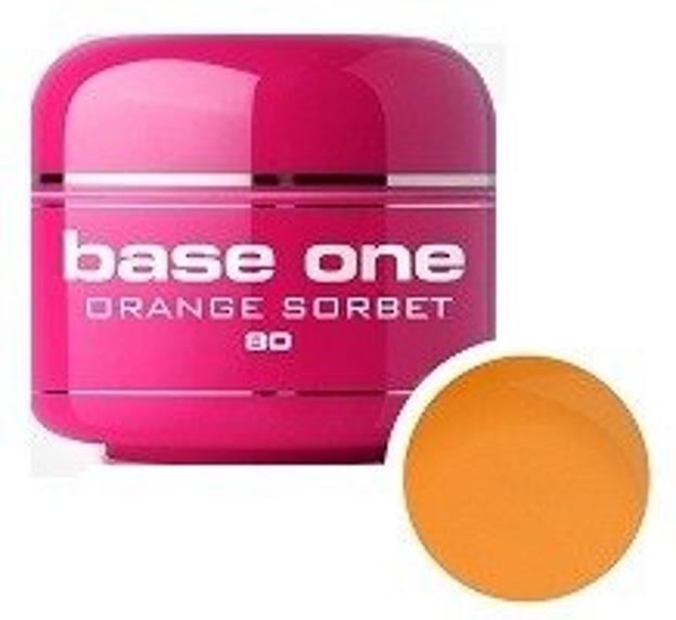 Silcare Base One 80 Orange Sorbet Żel kolorowy 5g