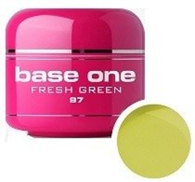 Silcare Base One 97 Fresh Green Żel kolorowy 5g
