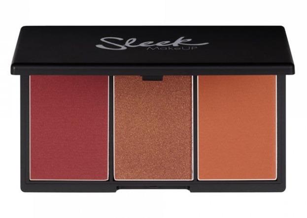 Sleek Blush BY3 Blush Palette - Paleta: 3 róże do policzków, 364 Sugar