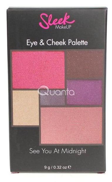 Sleek - Eye&Cheek Palette See You At Midnight 028 Paleta cieni do powiek