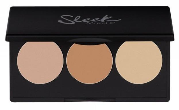 Sleek MakeUp Corrector & Concealer  Palette - Paleta korektorów, Odcień : 02