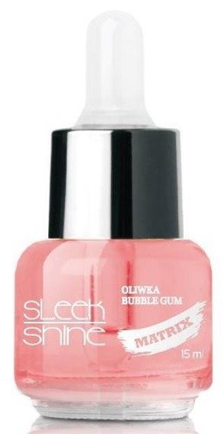 Sleek Shine Matrix Oliwka do skórek i paznokci Bubble Gum 15ml
