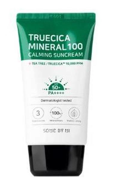 SomeByMi SNAIL TRUECICA Mineral 100 Suncream Ochronny krem przeciwsłoneczny z filtrem SPF50+ 50ml