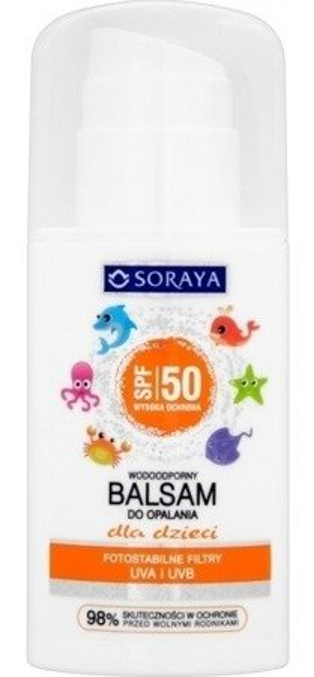 Soraya SPF50 Wodoodporny balsam do opalania dla dzieci 100ml