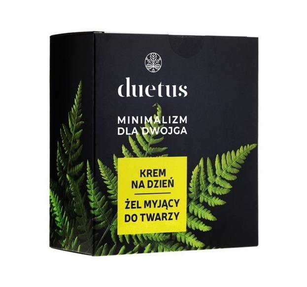 Sylveco Duetus Zestaw Minimalizm dla Dwojga  Żel myjący do twarzy 150ml + Krem na dzień 50ml
