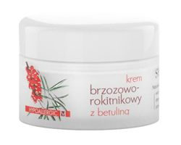 Sylveco Krem brzozowo - rokitnikowy z betuliną, 50 ml