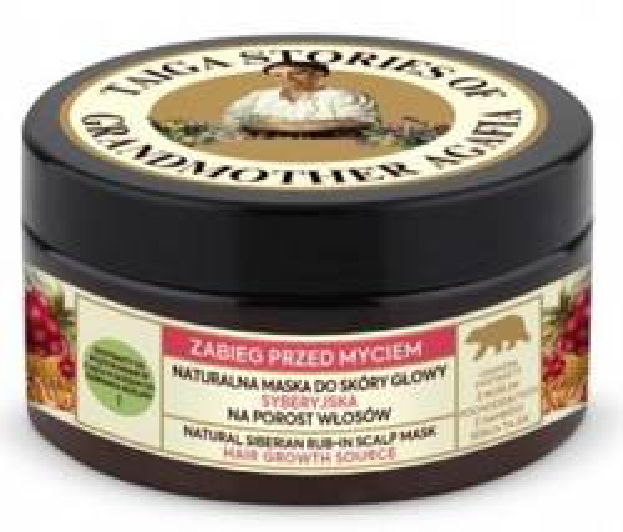Taiga Stories Zabieg przed myciem Naturalna maska do skóry głowy Syberyjska 100ml