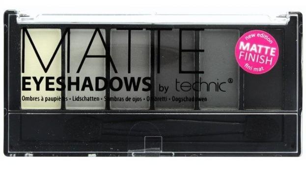 Technic Matte Eyeshadow Paleta 6 cieni do powiek