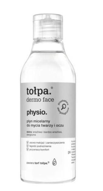 Tołpa Physio -Płyn micelarny do mycia twarzy i oczu 200 ml