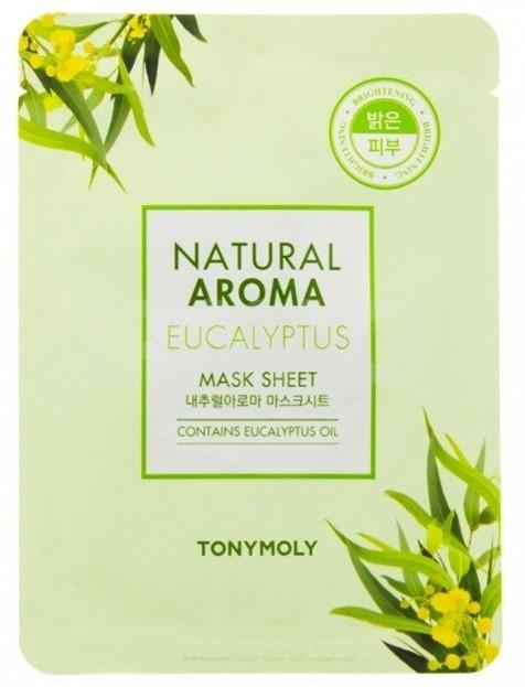 TonyMoly Natural Aroma EUCALYPTUS maska w płachcie