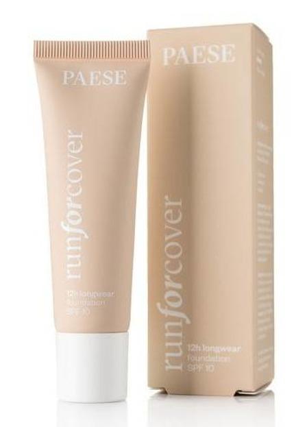 Trwały makijaż z PAESE Zestaw Baza HydroBase + Podkład Run For Cover