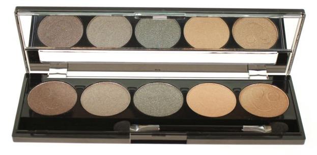 W7 EYES Eye shadow box-zestaw:5 cieni
