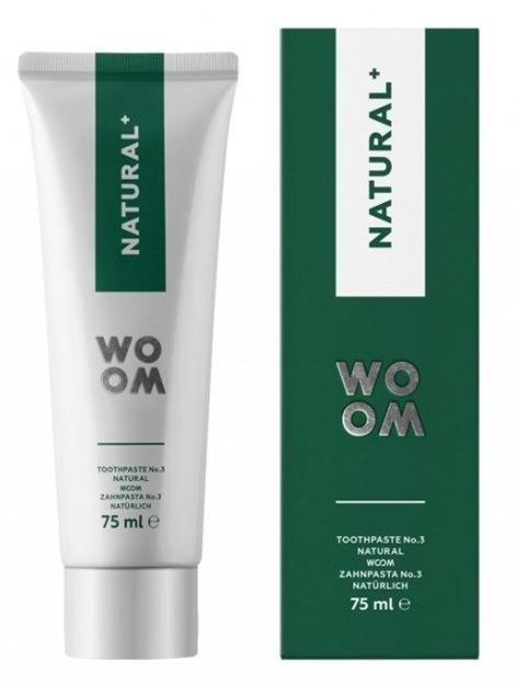 WOOM NATURAL+ Naturalna pasta do zębów 75ml