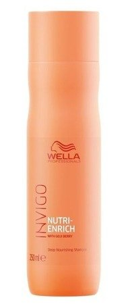 Wella INVIGO Nutri-Enrich Deep Nourishing Shampoo Szampon do włosów suchych 250ml