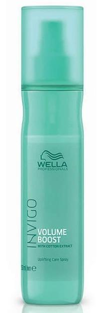 Wella INVIGO Volume Boost spray Odżywka do włosów w sprayu dodająca objętości 150ml