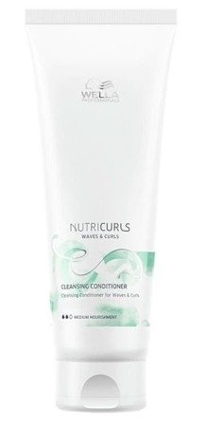Wella NutriCurls Waves&Curls Odżywka myjąca do włosów kręconych 250ml