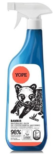 YOPE Naturalny płyn do czyszczenia łazienki Bambus 750ml