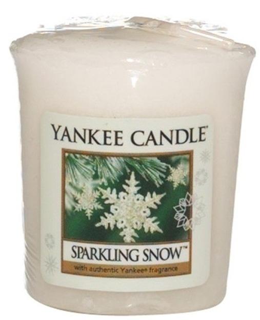 Yankee Candle Sampler Świeca Sparkling Snow 49g