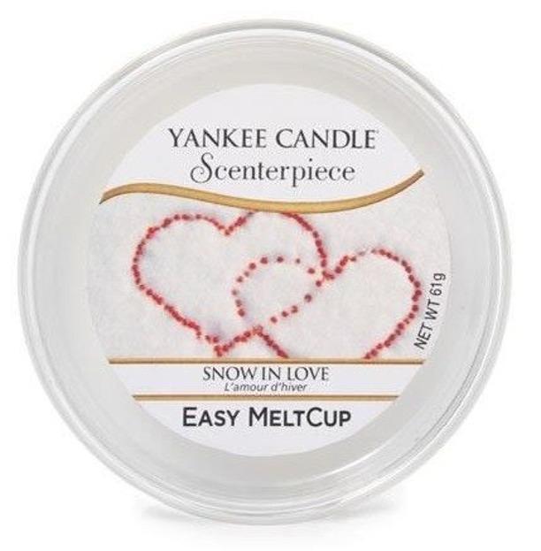 Yankee Candle Scenterpiece Snow In Love Wosk do kominka elektrycznego 61g