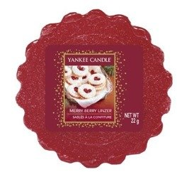 Yankee Candle Wosk Merry Berry Lizner