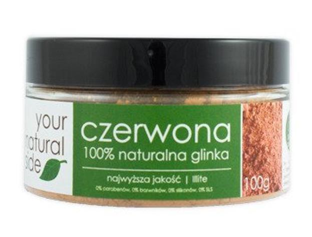 Your Natural Side Glinka czerwona 100% naturalna 100g