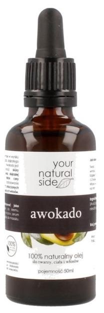 Your Natural Side Olej avocado 50ml Pipeta